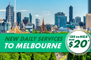 Melbourne Fares from $20*