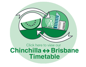 Chinchilla to Brisbane Timetable